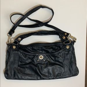 Marc by Marc Jacobs turnlock jacquetta. Black